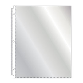 Standard clear sheet protectors from SSC
