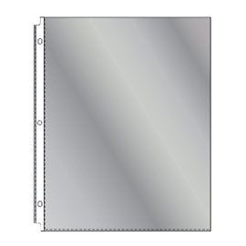 Semi non glare sheet protectors from SSC